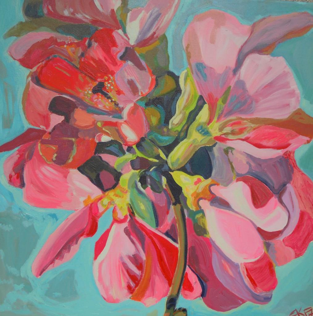 Zierapfelblüte 2